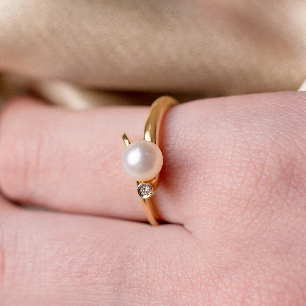 FINE RING PEARL